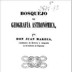 Bosquejo de geografía astronómica