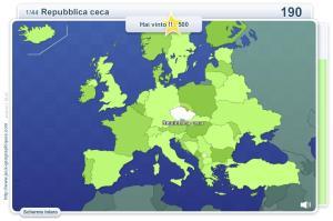 Geo Quizz Europa. Giochi geografici