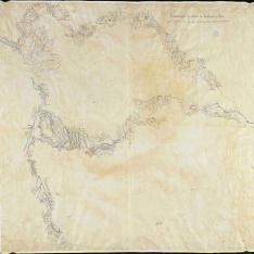 Reconocimiento del camino de Monblanch á Mora
