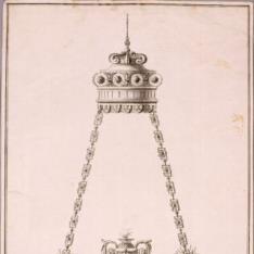 Diseño para lámpara de iglesia