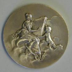Medalla conmemorativa de la Casa de la Moneda de París