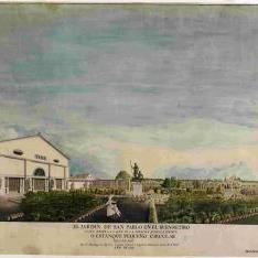El jardín de San Pablo en el Buen Retiro ...