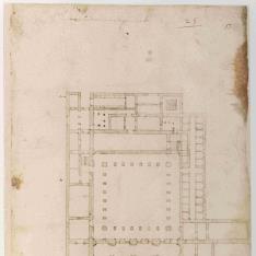 Planta del monasterio de San Agustín de Sevilla