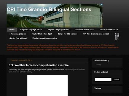 CPI Tino Grandío BilingUal Sections