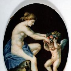 Venus coronando al Amor