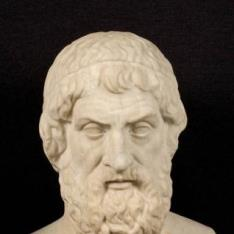 Herma del autor trágico Sófocles (tipo Farnesio)