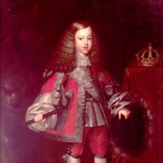 Retrato de Carlos II niño
