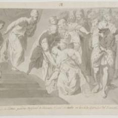 Ester delante de Asuero