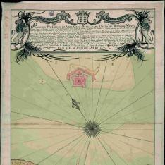 Plano del Pto. y Ciudad de Vera-Cruz