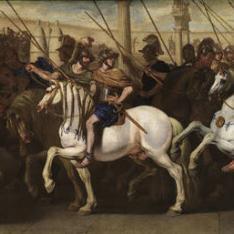 Soldados romanos en el circo