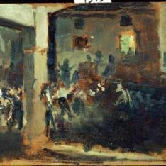 Baile en un pueblo