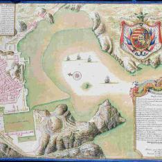 Plano del Puerto y Ciudad de Cartagena