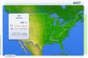 Ciudades de los EE. UU. Juegos Geográficos