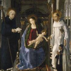La Virgen del caballero de Montesa