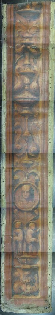 Proyecto para intercalar unas pilastras pintadas para la decoración de The Hispanic Society