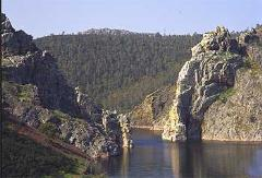 Las crestas del río Alagón