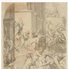 La matanza de los inocentes (copia según Pellegrino Tibaldi)