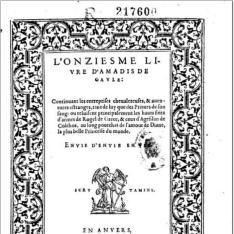 L´onziesme livre d´Amadis de Gaule
