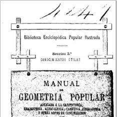 Manual de geometría popular