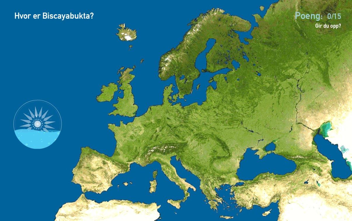 Interaktivt Kart Over Europa Havomrader I Europa Toporopa Mapas