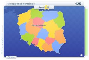 Voivodeships of Poland . Geography map games