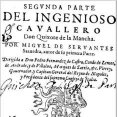 Segunda parte del ingenioso cauallero don Quixote de la Mancha