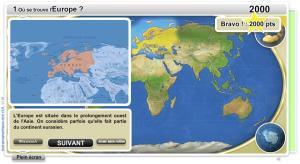 Géographie physique du Monde Junior. Jeux géographiques