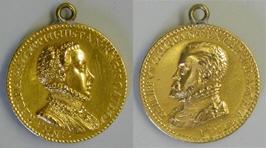 Medalla conmemorativa de la boda de Felipe II y Ana de Austria