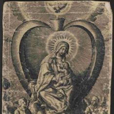 La Virgen amamantando al Niño