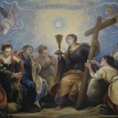 Triunfo de la Fe sobre los Sentidos