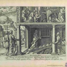 Acta Apostolorum elegantiss. monochromatis a duobus praestantiss. pictorib. Belgis summo artificio