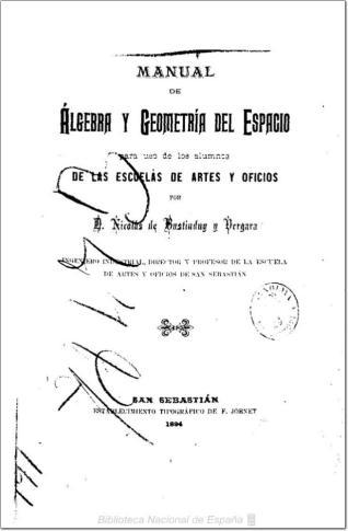 Manual de álgebra y geometría del espacio