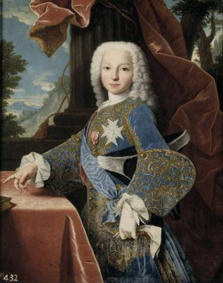 Felipe de Borbón y Farnesio, futuro duque de Parma