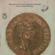 LOS VIVOS RETRATOS DE TODOS LOS Emperadores, desde Julio Cesar al Emperador Carlos V...