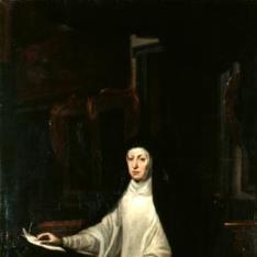Retrato de la reina doña Mariana de Austria