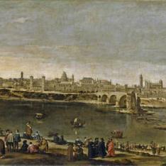 Vista de la ciudad de Zaragoza