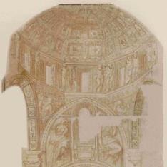 Proyecto de crucero y cúpula de la iglesia de san Matteo, Génova