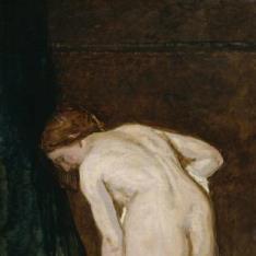 Desnudo femenino, o Al salir del baño