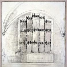 Retablo gótico de la capilla del Campillo, El Escorial, Madrid