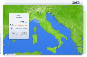 Villes d'Italie. Jeux géographiques
