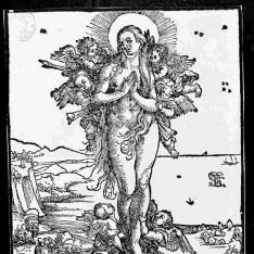 El éxtasis de Santa María Magdalena