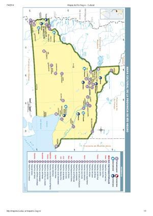 Mapa cultural de Río Negro. Mapoteca de Educ.ar