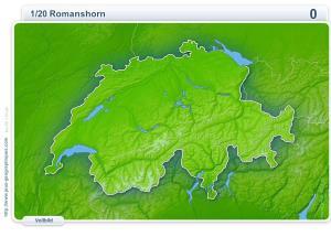 Städte der Schweiz. Geographie Spiele