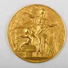 Tercera Medalla del Salón de la Societé des Artistes français