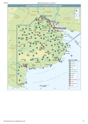 Mapa económico de Buenos Aires. Mapoteca de Educ.ar