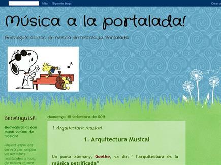 Música la Portalada!
