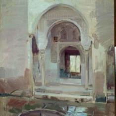 Patio de la Justicia, La Alhambra de Granada