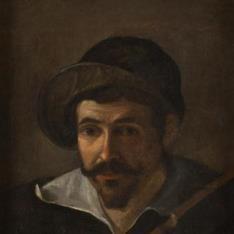 ¿Retrato del arcabucero de Felipe IV Alonso Martínez del Espinar?