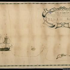 Descripcion de los Navios de flota Naufragados en los Caios de la Canal de Bahama