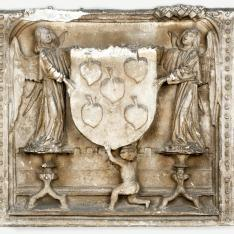 Escudo de armas de Dña. María de Perea